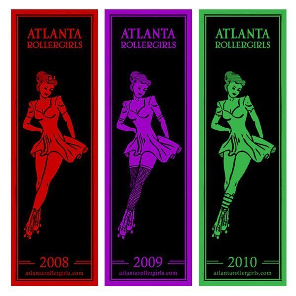 Atlanta Rollergirls print series