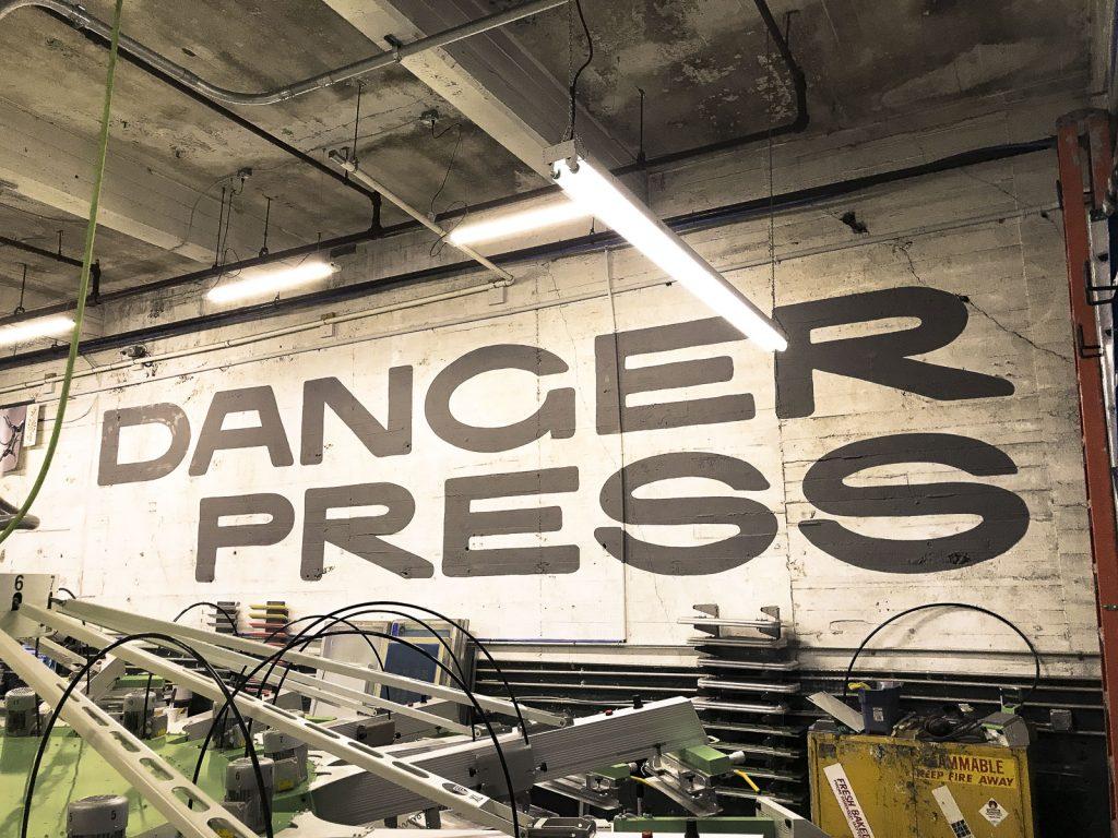 Danger Press logotype