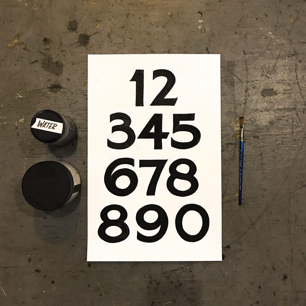 Traditional Sign Numbers