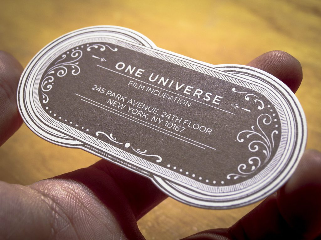 One Universe Business Cards