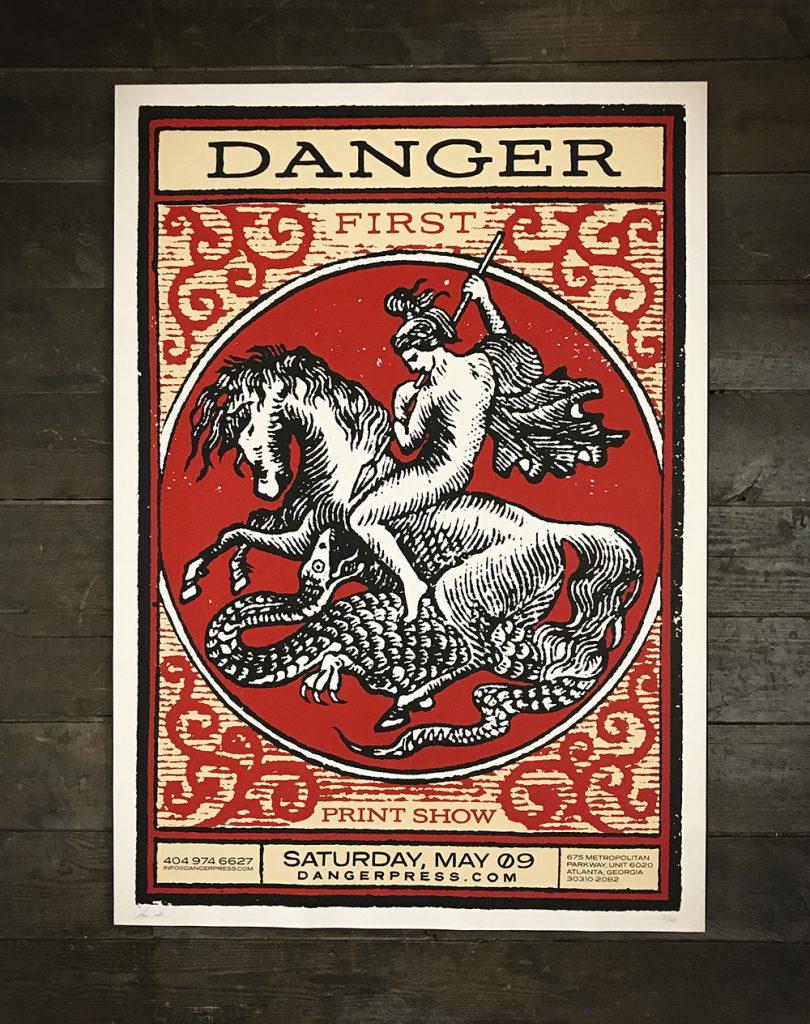 St.George poster for Danger Press