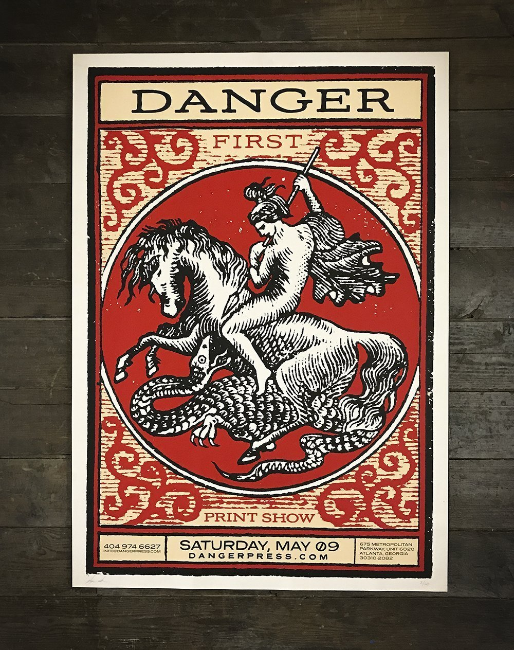 St.George poster for Danger Press