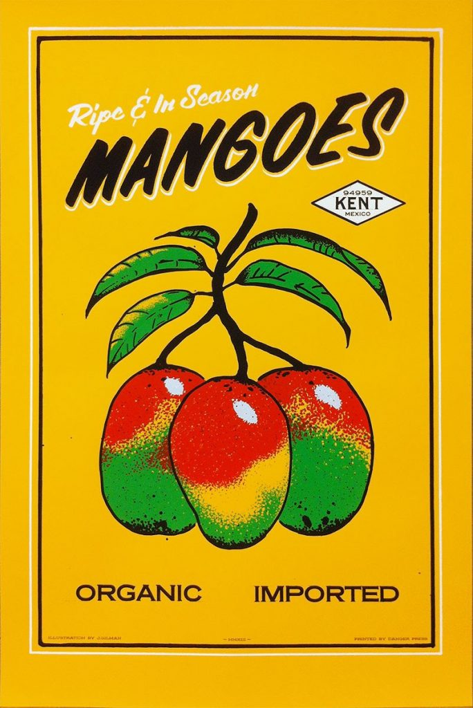 Mangoes print