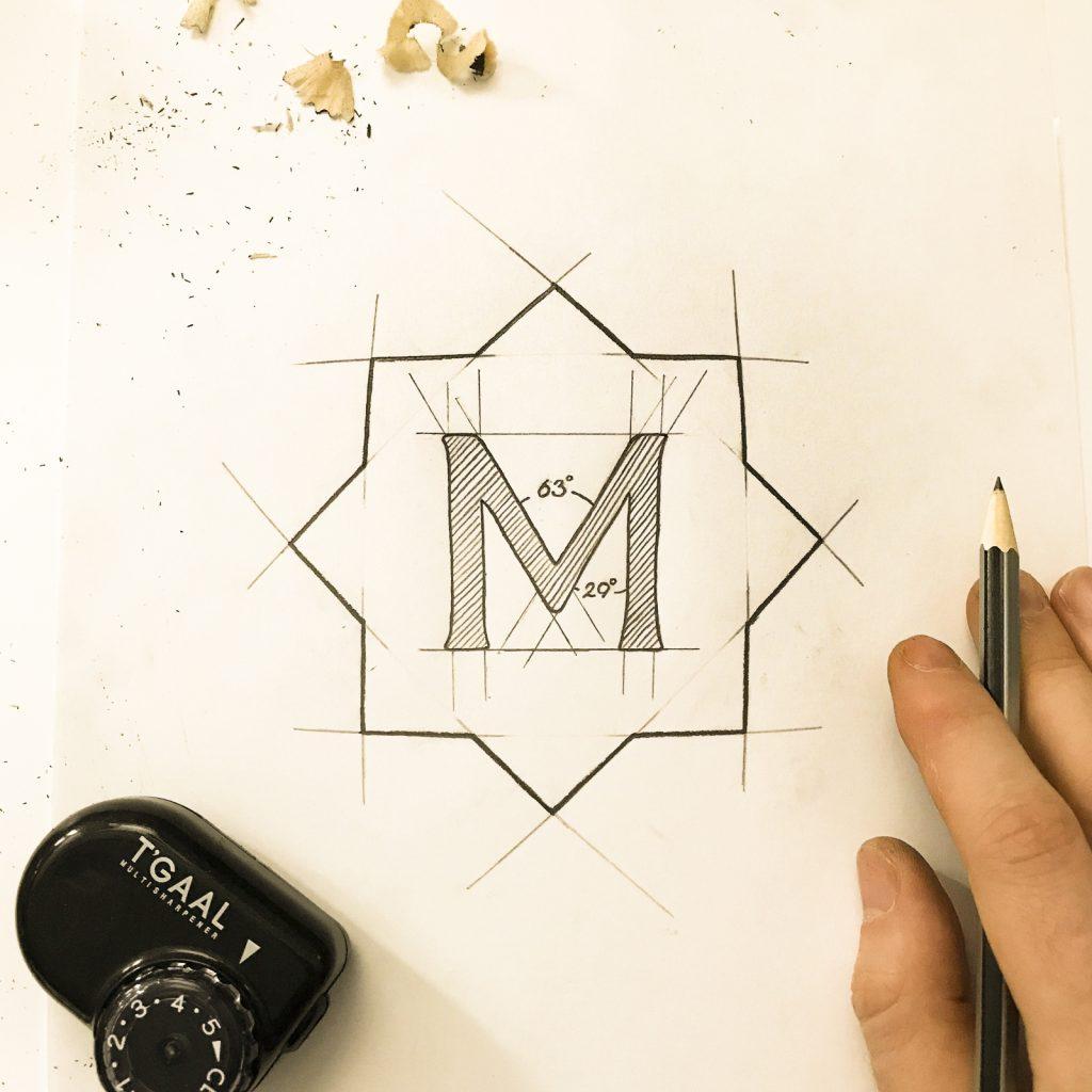 Sketch for Marrakech Express log